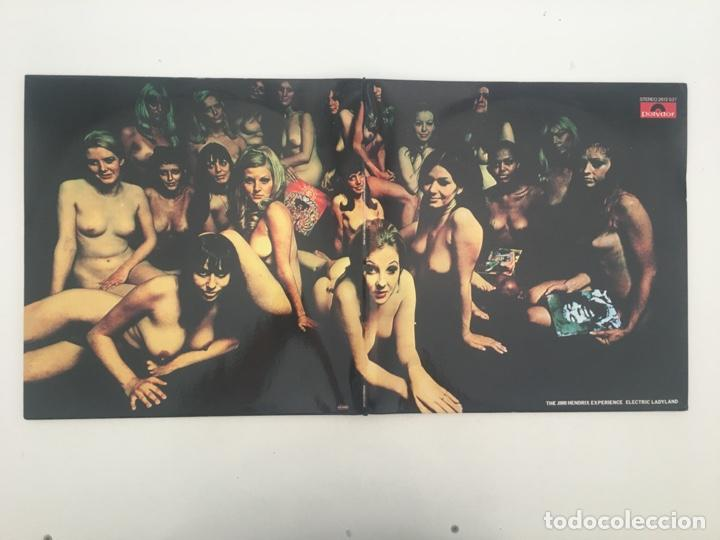 Discos de vinilo: The Jimi Hendrix Experience – Electric Ladyland, 2 LPs, Unofficial, Blue, UK Polydor - Foto 4 - 276479393