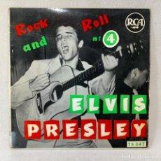 Discos de vinilo: EP ELVIS PRESLEY - ROCK AND ROLL Nº 4 - FRANCIA - AÑO 1960. Lote 276486128