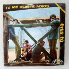Disques de vinyle: SINGLE LOS BRINCOS - TU ME DIJISTE ADIOS - ESPAÑA - AÑO 1965. Lote 276489278