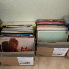 Discos de vinilo: LOTE DE 90 VINILOS. Lote 276490543