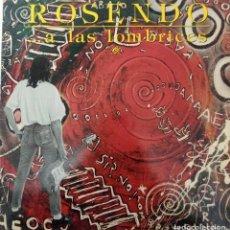 """Discos de vinil: LP ROSENDO """"A LAS LOMBRICES"""". Lote 276491448"""