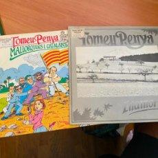 Discos de vinilo: TOMEU PENYA LOTE (ILLAMOR + MALLORQUINS I CATALANS) SINGLE (EPI24). Lote 276493038