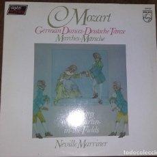 Disques de vinyle: MOZART. GERMAN DANCES. MARCHES. PEDIDO MINIMO 3 EUROS.. Lote 276522513