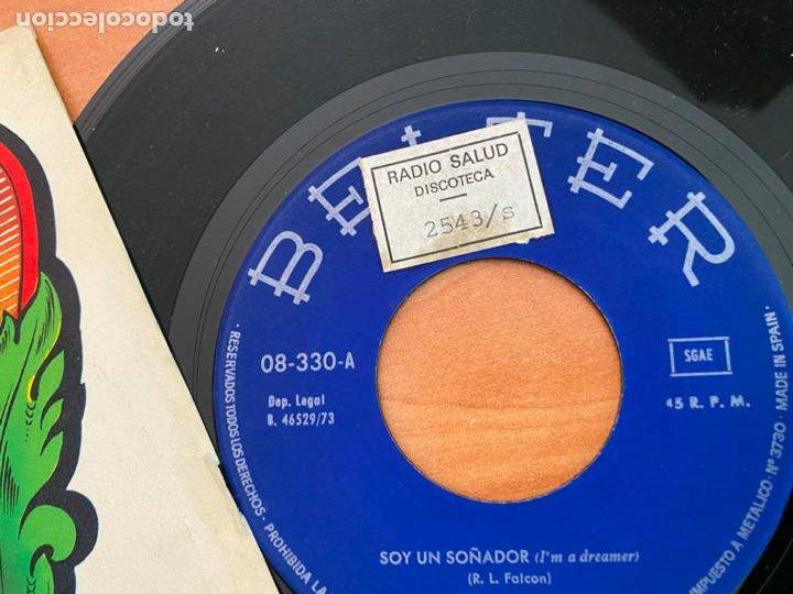 Discos de vinilo: RUDY VENTURA (SOY UN SOÑADOR) SINGLE 1973 ESPAÑA (EPI24) - Foto 2 - 276528198