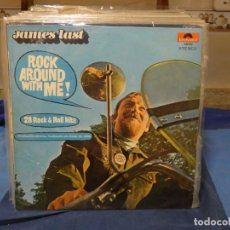 Discos de vinilo: LP BASTANTE SUFRIDO Y TROTADO JAMES LAST ROCK ARROUND WITH ME ALEMANIA CA 1968. Lote 276530618