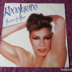 Discos de vinil: ROCIO JURADO – SUSPIRO DE AMOR ,VINYL LP 1986 SPAIN PL 35540. Lote 276532933