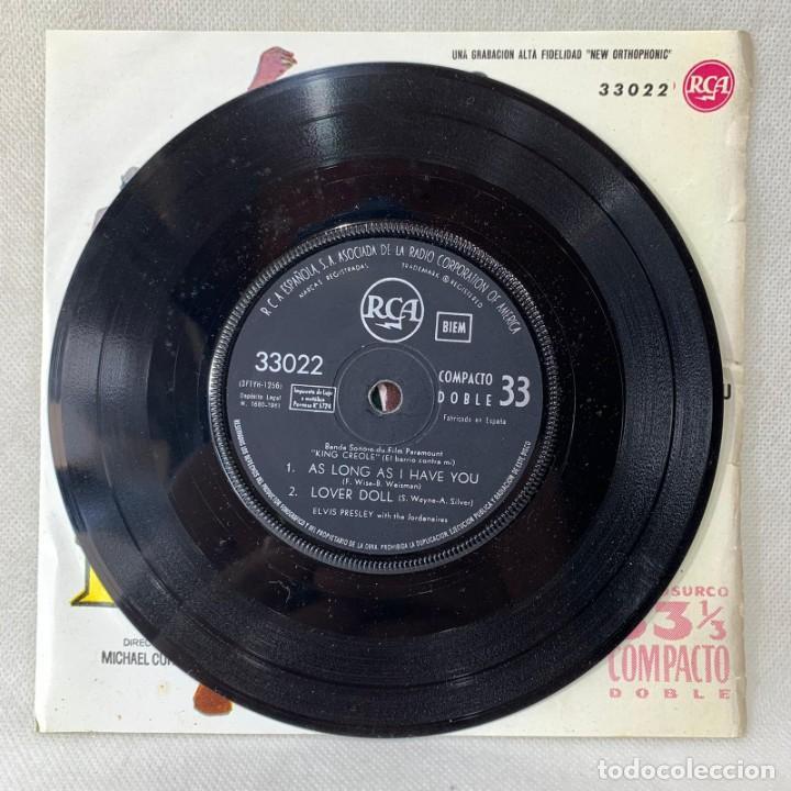 Discos de vinilo: EP ELVIS PRESLEY - KING CREOLE / EL BARRIO CONTRA MI - ESPAÑA - AÑO 1961 - Foto 2 - 276533038