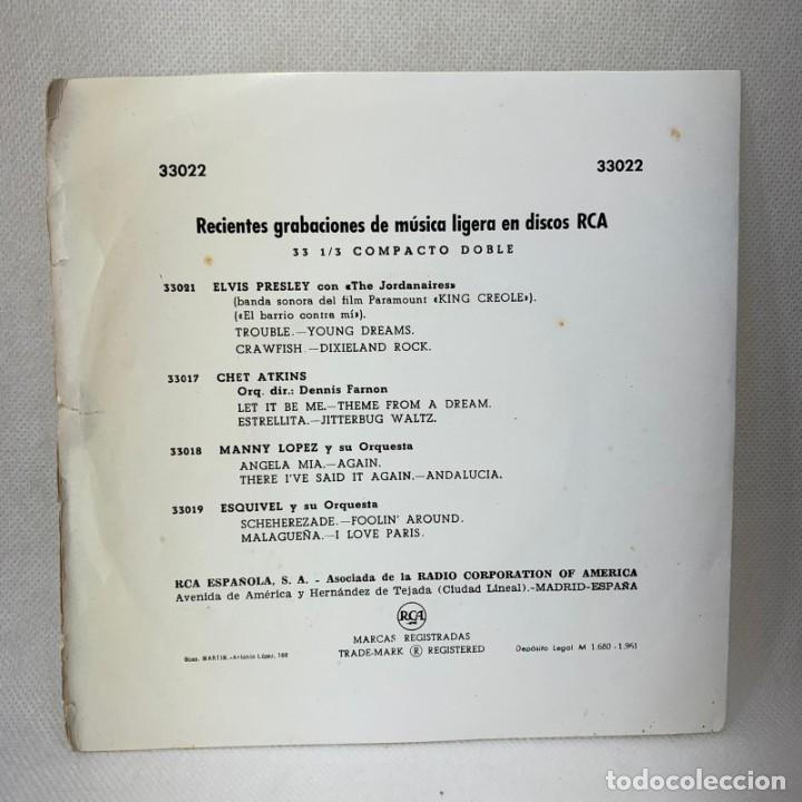 Discos de vinilo: EP ELVIS PRESLEY - KING CREOLE / EL BARRIO CONTRA MI - ESPAÑA - AÑO 1961 - Foto 4 - 276533038