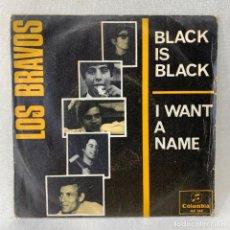Discos de vinilo: SINGLE LOS BRAVOS - BLACK IS BLACK - ESPAÑA - AÑO 1966. Lote 276533863