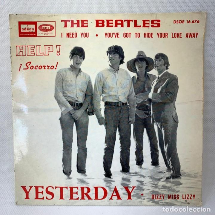 EP THE BEATLES - YESTERDAY - ESPAÑA - AÑO 1965 (Música - Discos de Vinilo - EPs - Rock & Roll)