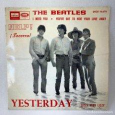 Discos de vinilo: EP THE BEATLES - YESTERDAY - ESPAÑA - AÑO 1965. Lote 276535108