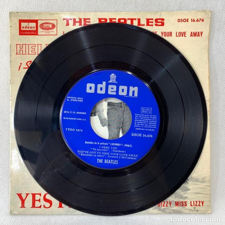 Discos de vinilo: EP THE BEATLES - YESTERDAY - ESPAÑA - AÑO 1965 - Foto 2 - 276535108