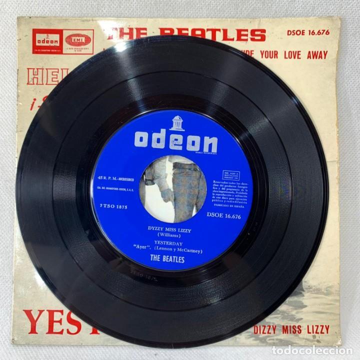 Discos de vinilo: EP THE BEATLES - YESTERDAY - ESPAÑA - AÑO 1965 - Foto 3 - 276535108
