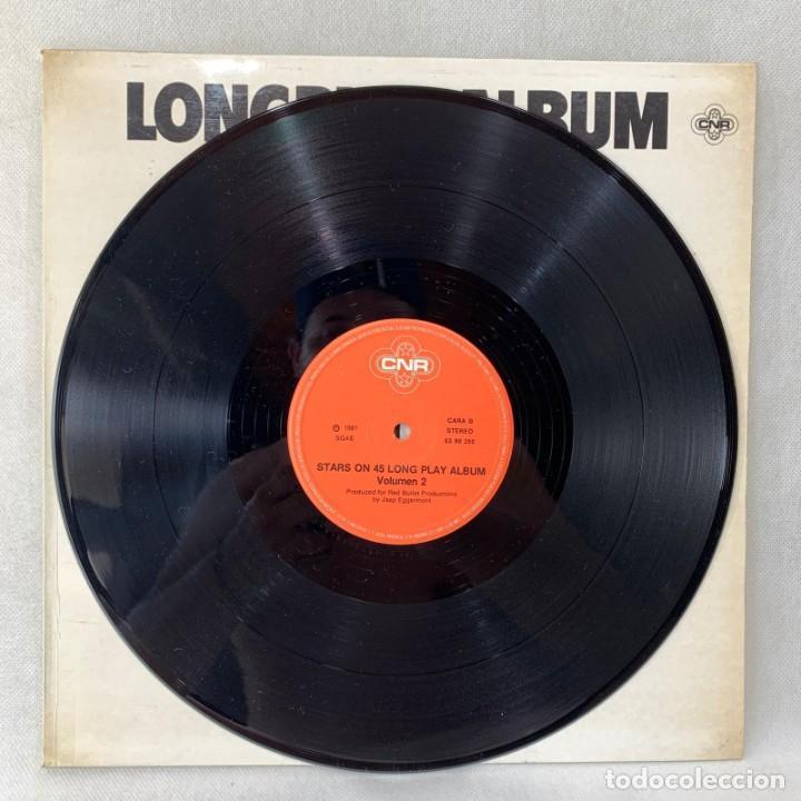 Discos de vinilo: LP - VINILO STARS ON 45 - LONGPLAY ALBUM VOLUME II - ESPAÑA - AÑO 1981 - Foto 2 - 276547668