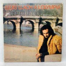 Discos de vinilo: LP - VINILO LLUÍS LLACH - A L'OLYMPIA - DOBLE PORTADA - ESPAÑA - AÑO 1973. Lote 276551548