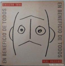 """Disques de vinyle: LP SINIESTRO TORAL """"EN BENEFICIO DE TODOS"""". Lote 276553093"""