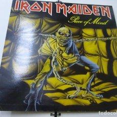 Discos de vinilo: IRON MAIDEN - PIECE OF MIND - LP - CARPETA ABIERTA -EDICION ESPAÑOLA - N. Lote 276553258
