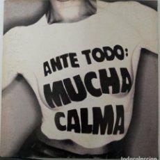 """Discos de vinil: LP SINIESTRO TOTAL """"ANTE TODO MUCHA CALMA"""". Lote 276553423"""