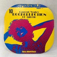 Discos de vinilo: MAXI SINGLE LAURENT VOULZY - ROCKOLLECTION - ESPAÑA - AÑO 1977. Lote 276554608