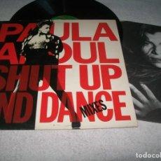Discos de vinilo: PAULA ABDUL - SHUT UP AND DANCE - MIXES ..LP DE 1990 - VIRGON SPAIN - CON ENCARTE - BUEN ESTADO. Lote 276555328