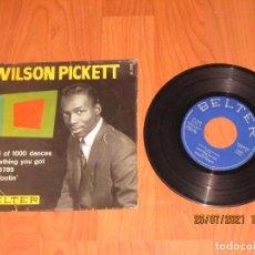 Discos de vinil: WILSON PICKETT - LAND OF 1000 DANCES - SINGLE - SPAIN - BELTER - REF 51.703 - L -. Lote 276556633