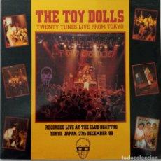 "Disques de vinyle: LP TOY DOLLS ""TWENTY TUNES LIVE FROM TOKYO"". Lote 276557943"