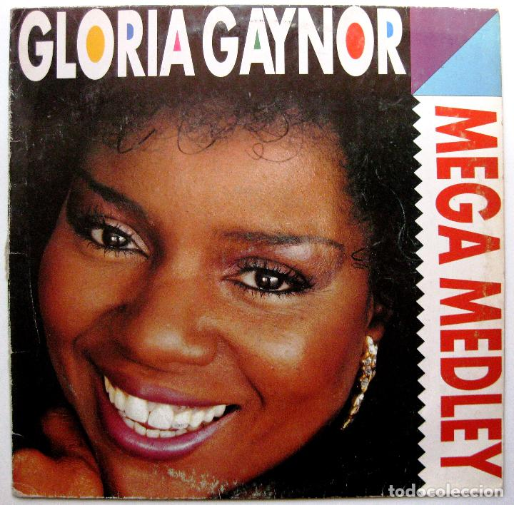 GLORIA GAYNOR FEATURING WRECIA FORD & ROYAL VALOURE - MEGA MEDLEY - MAXI MAX MUSIC 1990 BPY (Música - Discos de Vinilo - Maxi Singles - Disco y Dance)