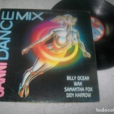 Discos de vinilo: SANNI DANCE MIX ..LP - MEGAMIX DE SANNI RECORDS - 1986..WAX, SAMANTHA FOX,.. ETC. Lote 276562643
