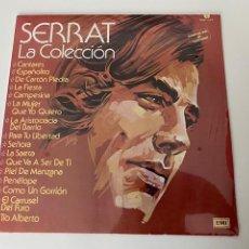 Discos de vinilo: VINILO A ESTENAR JOAN MANUEL SERRAT - LA COLECCION, MEXICO, VER FOTOS.3,33 ENVÍO CERTIFICADO.. Lote 276563313