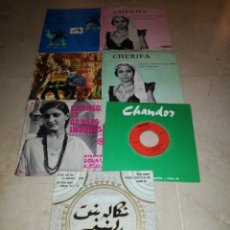 Discos de vinilo: LOTE DE 7 EPS DE MUSICA INDIA. Lote 276557638