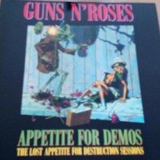 Discos de vinilo: GUNS N´ROSES APPETITE FOR DEMOS LP. Lote 276564908