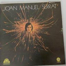 Discos de vinilo: VINILO JOAN MANUEL SERRAT, EMI-CAPITOL, 1971, MÉXICO, EN PERFECTO ESTADO.VER FOTOS.3,33 ENVÍO CERT.. Lote 276566673
