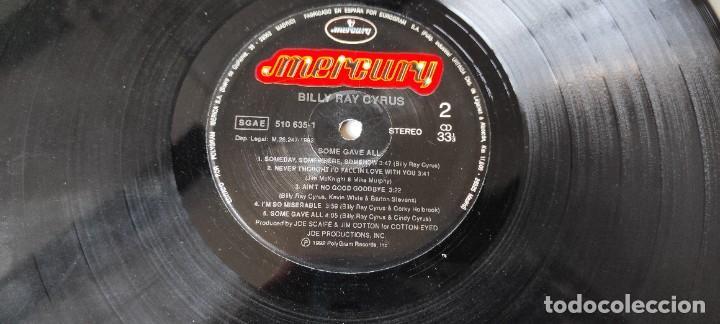 Discos de vinilo: LP VINILO - BILLY RAY CYRUS SOME GAVE ALL - Foto 7 - 276567828