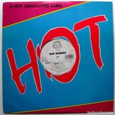 Discos de vinilo: GO BANG - BANG IT - MAXI JACK POT RECORDS 1990 USA BPY. Lote 276568743