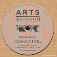 "Discos de vinilo: EMMANUEL - INSTALLATIONS - 12"" [ARTS COLLECTIVE, 2015] TECHNO. Lote 276577118"