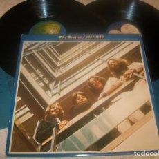 Discos de vinilo: THE BEATLES 1967-1970 ..2LP´S - COMPLETO CON ENCARTES DE 1973 - CARPETA ABIERTA - ED. ESPAÑOLA. Lote 276579843