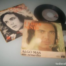 Disques de vinyle: CAMILO SESTO - LOTE DE 2 SINGLES NUMEROS 1 -AÑOS 70 - QUIERES SER MI AMANTE Y ALGO MAS - ARIOLA. Lote 276553273