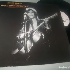 Discos de vinilo: DAVID BOWIE - LP ZIGGY ON CHANNEL TWO - LIVE STARDUST - MUY RARO ED. COLECCIONISTAS. Lote 276575523