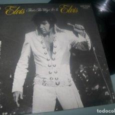Dischi in vinile: ELVIS PRESLEY - THAT´S THE WAY IT IS ..LP DE RCA - VICTOR - EDICION ESPAÑOLA - MUY BUEN ESTADO. Lote 276576373