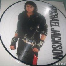 Discos de vinilo: MICHAEL JACKSON - BAD ..LP - PICTURE DISC DE 2018 - NEW&SEALED - NUEVO. Lote 276577603