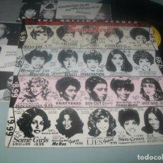 Discos de vinilo: THE ROLLING STONES - SOMEGIRLS ..LP COMO NUEVO DE CBS - ESPAÑOL 2ª ED. 1987 - CARPETA DIFERENTE. Lote 276578803