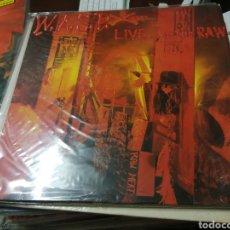 Disques de vinyle: LP HEAVY METAL WASP LIVE IN THE RAW MUY BUEN ESTADO GENERAL 1987. Lote 276599738