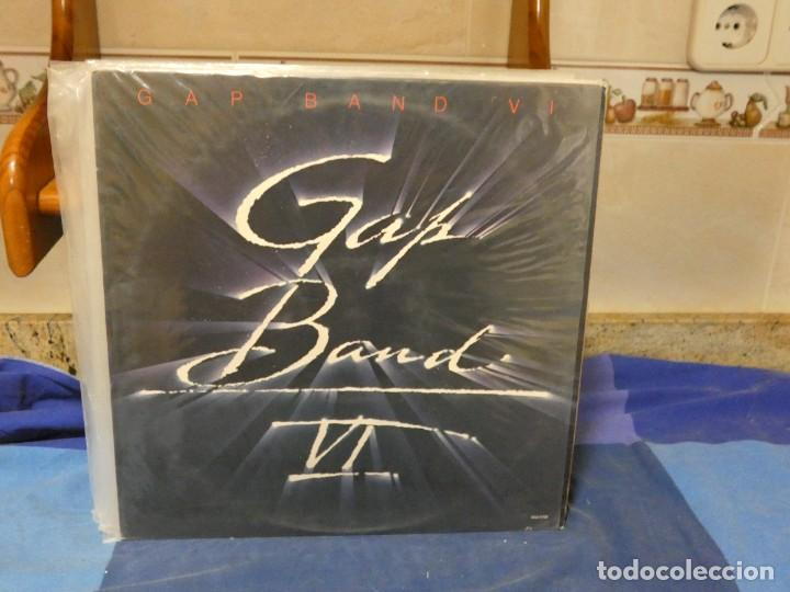 LP FUNK SOUL THE GAP BAND VI USA 1985 VINILO EN MUY BUEN ESTADO (Música - Discos - LP Vinilo - Rock & Roll)