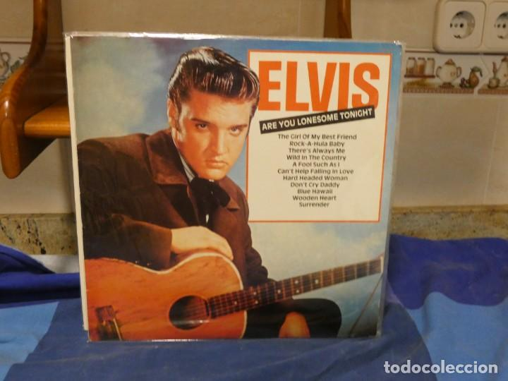 LP ELVIS PRESLEY ARE YOU LONESOME TONIGHT BUEN ESTADO GENERAL (Música - Discos - LP Vinilo - Rock & Roll)