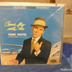 Disques de vinyle: LP FRANK SINATRA COME FLY WITH ME ANTIQUISIMO MUY BUEN ESTADO GENERAL. Lote 276600923