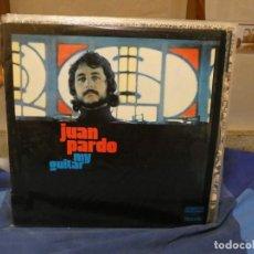 Discos de vinilo: LP JUAN PARDO MY GUITAR PEQUEÑA MANCHA ATRAS MUY BUEN ESTADO GENERAL ORLADOR 1973. Lote 276600963