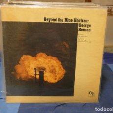 Disques de vinyle: LP USA CIRCA 1973 CTI GEROGE BENSON BEYOND THE BLUE HORIZON LEVES SEÑALES DE USO CORRECTO. Lote 276602233