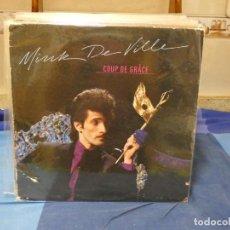 Disques de vinyle: LP MINK DE VILLE COUP DE GRACE 1981 USA PORTADA ALGUN DESCONCHON VINILO MUY BIEN. Lote 276602503