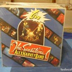 Discos de vinilo: LP THE SENSATIONAL ALEX HARVEY BAND LIVE 1984 MUY BUEN ESTADO. Lote 276602603