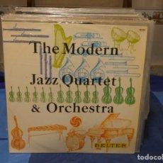 Disques de vinyle: LP THE MODERN JAZZ QUARTET AND ORCHESTRA ESPAÑA 64 MUY BUEN ESTADO PRECIOSO. Lote 276602648